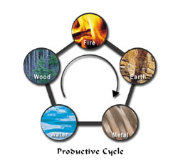 five elements productive cycle