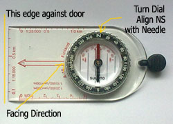 straight edge compass